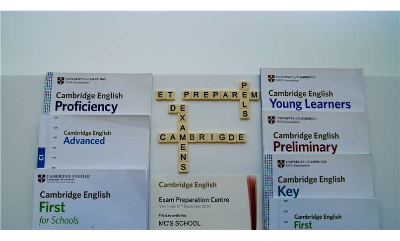 Centre preparador d'exàmens oficials de Cambdrigde: KET, PET, FIRST, ADVANCED i PROFICIENCY